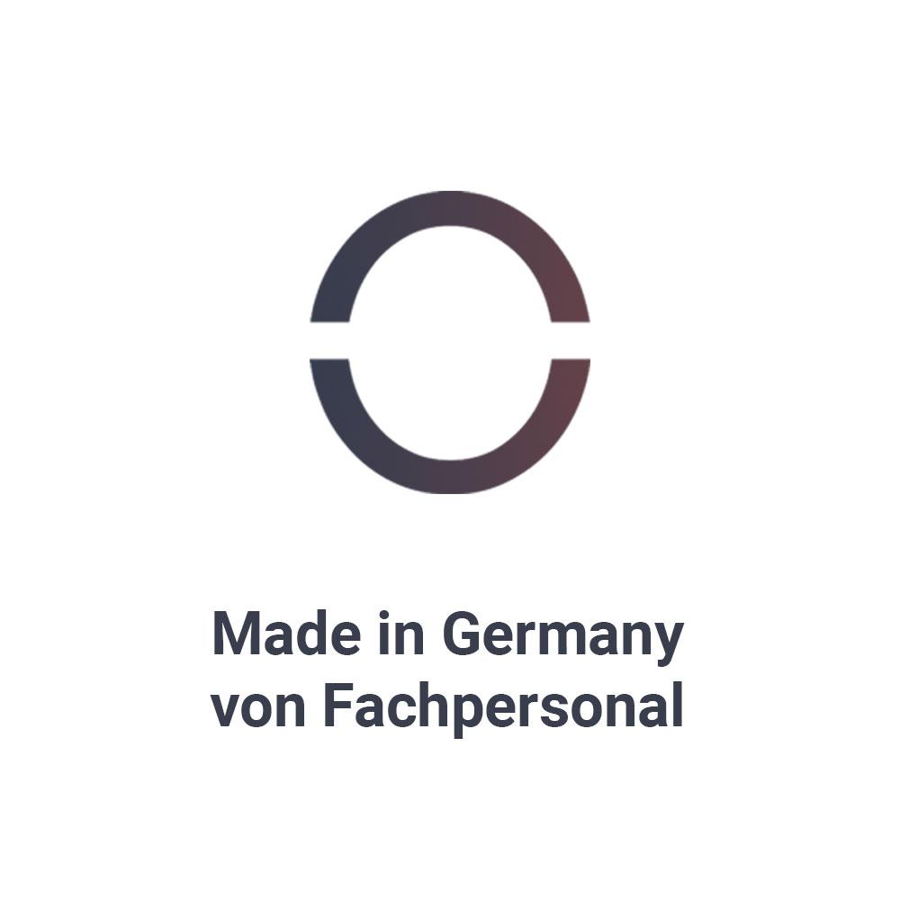 Wir gehören zu den wenigen Anbietern auf dem Markt, die an jedem Schritt des Produktionsprozesses nur mit erfahrenen Zahntechnikern und Zahnärzten arbeiten und dies 100% an unserem Standort in Frankfurt.